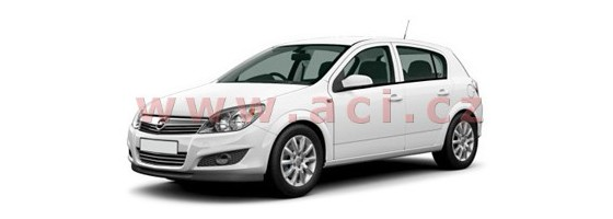 Opel Astra H 2007-2009